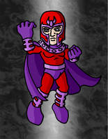 Mini Marvels - Magneto by ZappaZee