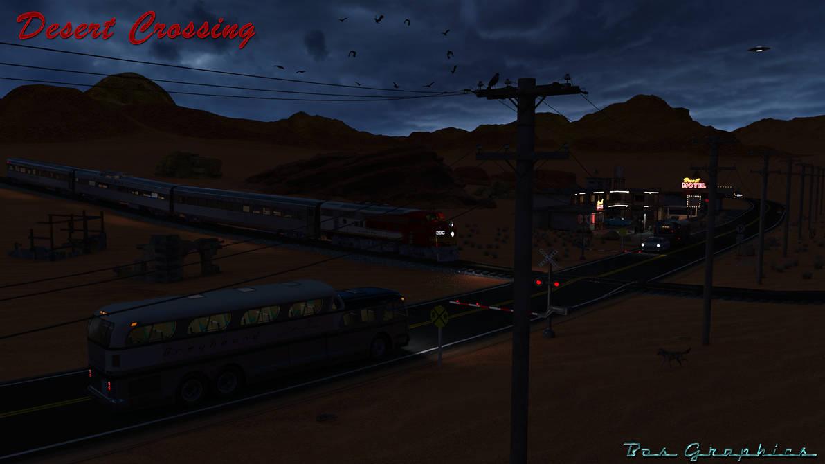 Desert Crossing Night by philbos on DeviantArt