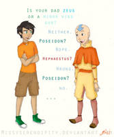 Percy meets Aang by MissySerendipity