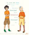 Percy meets Aang