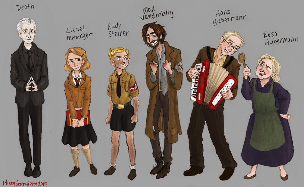 The Book Thief character sheet by MissySerendipity on DeviantArt