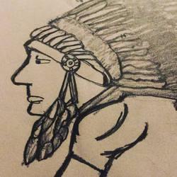Sketch drawing #6