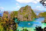 Kayangan Lake in Palawan by girltravelfactor