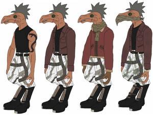 Jok Graq alternate outfits