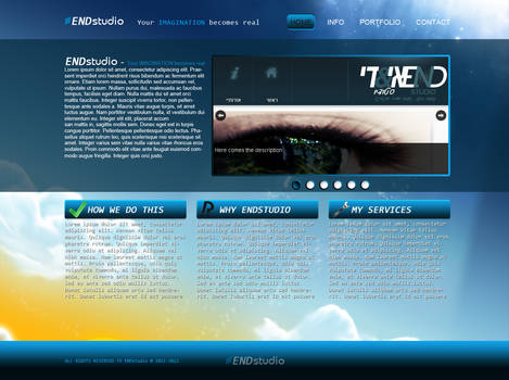 ENDstudio site v1