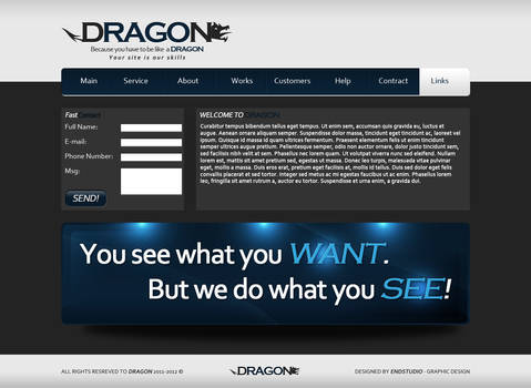 Dragon new layout