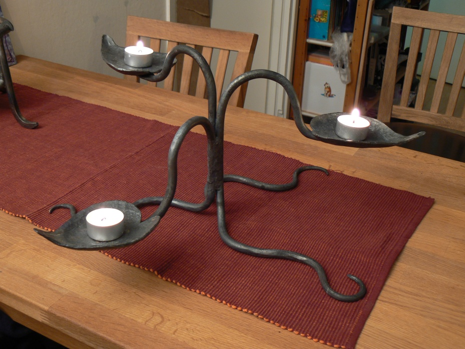 Organic candlestand by timjo