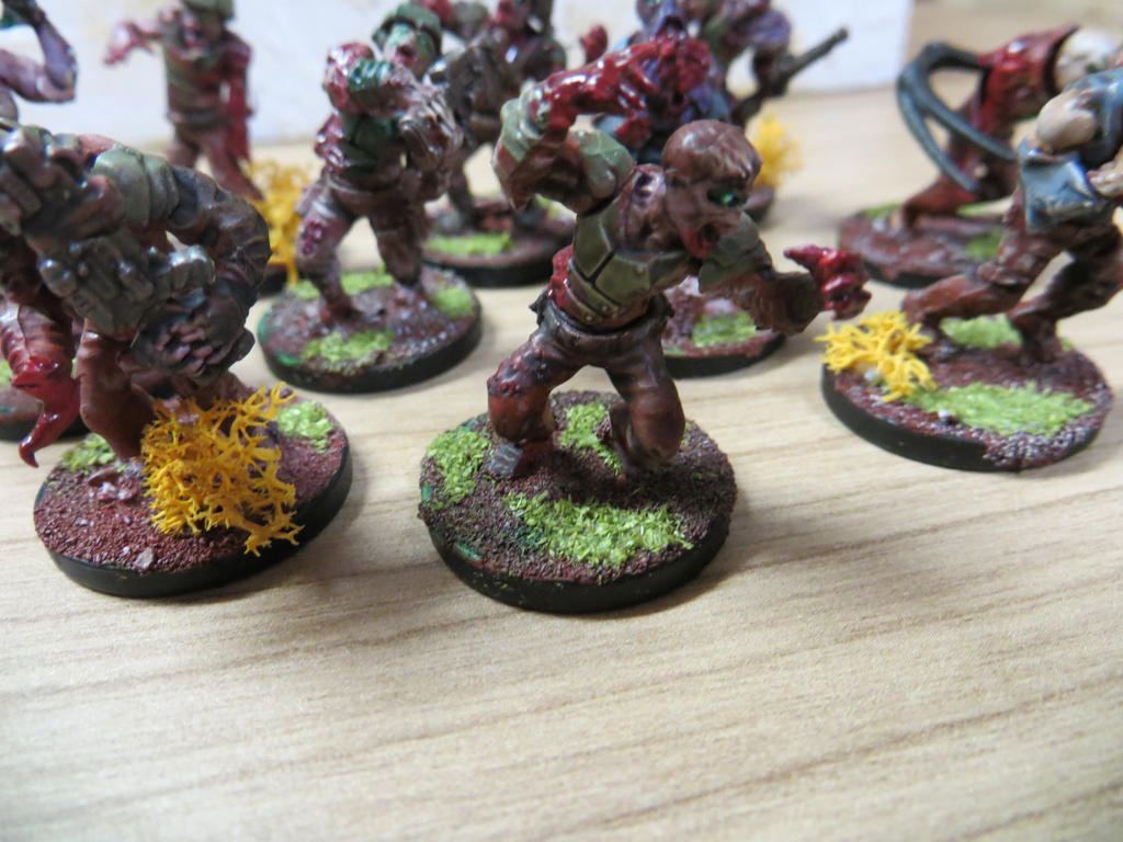 Plague Zombies WIP #2 by MOxC