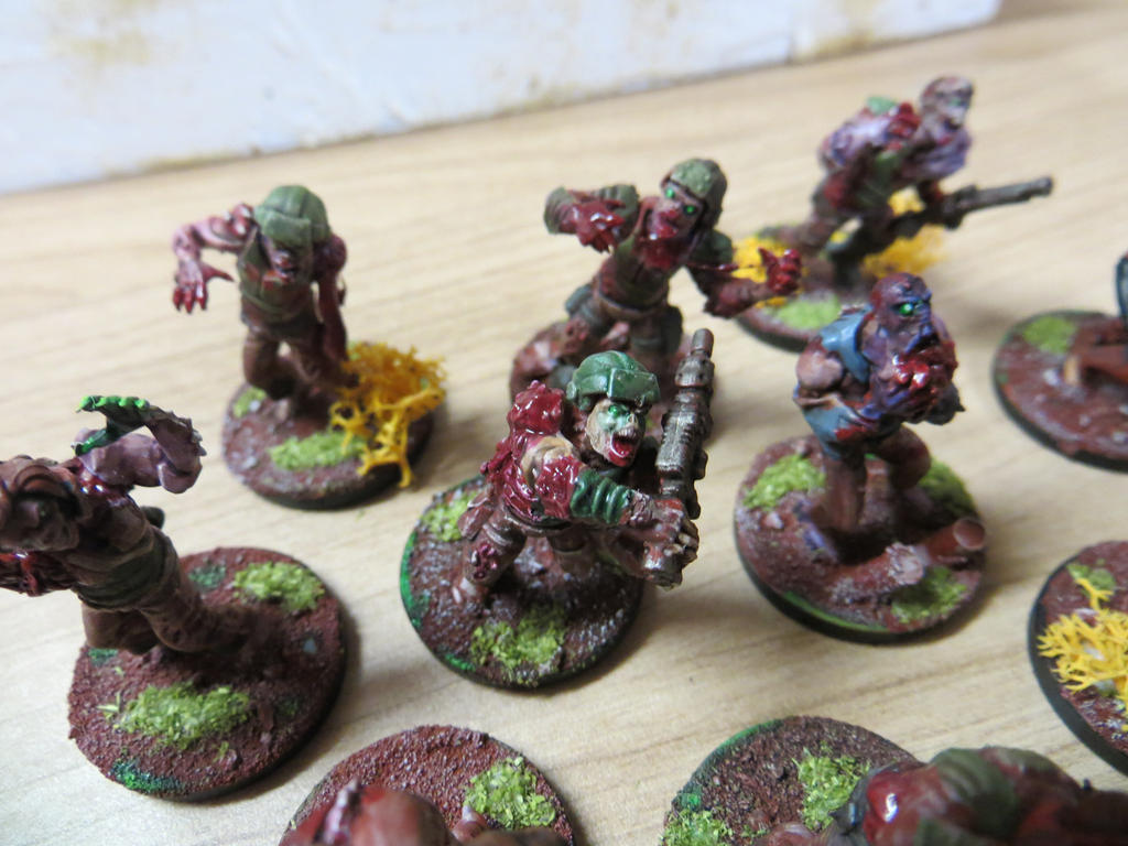 Plague Zombies WIP #3 by MOxC