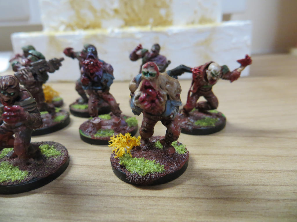 Plague Zombies WIP #4 by MOxC