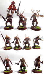 Plague Bearer Squad by MOxC