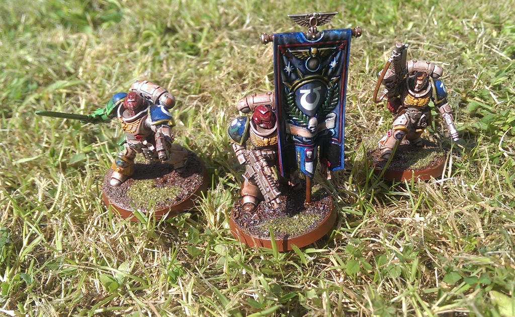 Primaris Characters by MOxC
