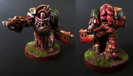 Death Guard Terminator #3