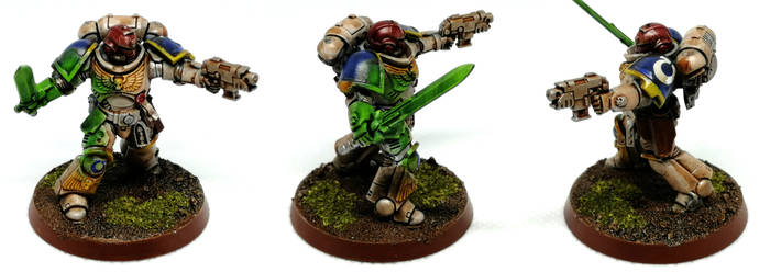Primaris Space Marine Lieutenant w Sword