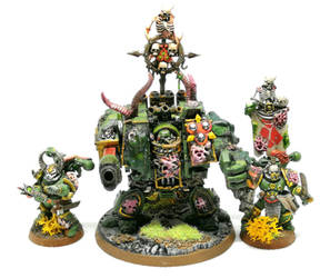 Plague Marines and Hellbrute