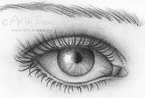 Eye ACEO by issa-art