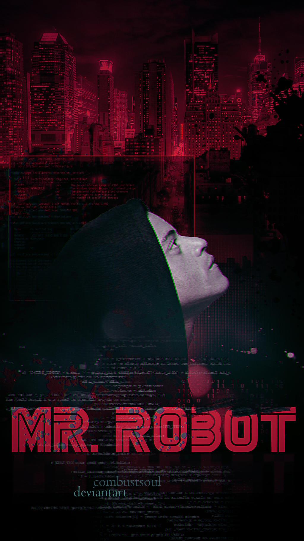 Mr Robot Phone Wallpaper By Combustxsoul On Deviantart
