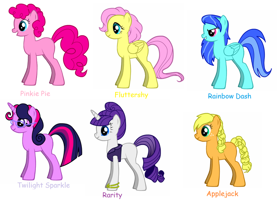 How To Draw Mane 6
