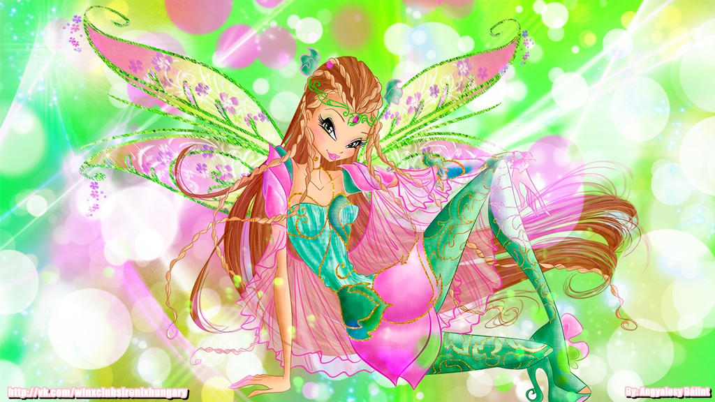 Winx club flora bloomix wallpaper01 by angyalosybalint on - Winx magic bloomix ...