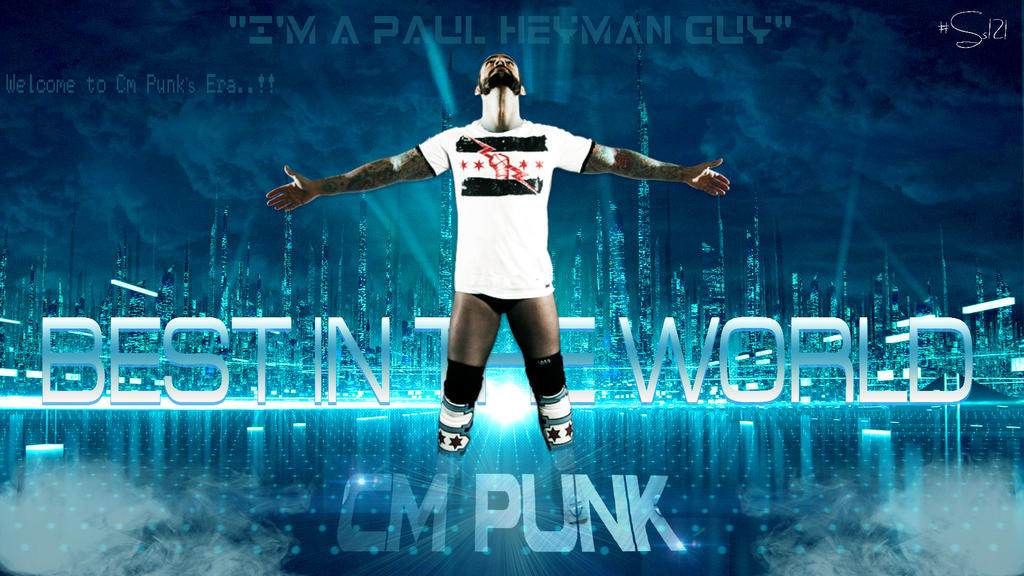 Cm punk best in the world wallpaper by ss121 on deviantart cm punk best in the world wallpaper by ss121 voltagebd Choice Image