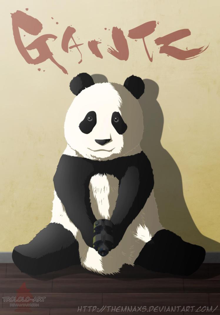 Gantz Panda by themnaxs