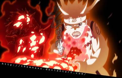 Roshi VS Naruto by themnaxs