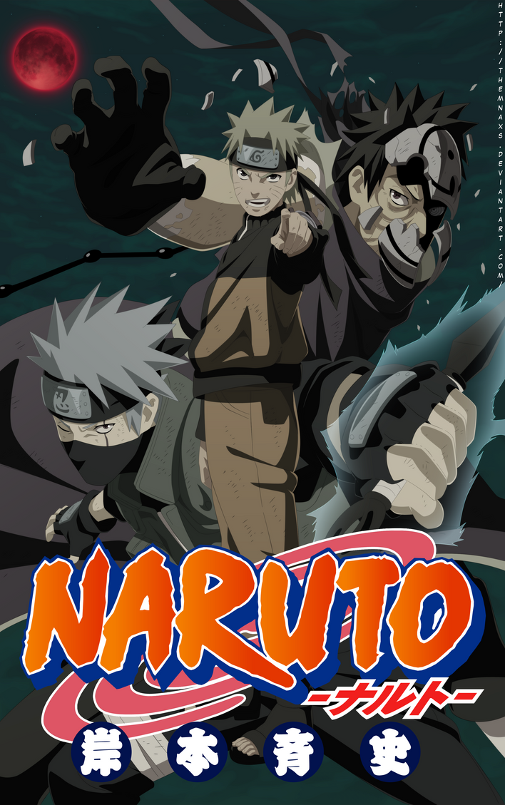 Naruto Cover 63 by themnaxs
