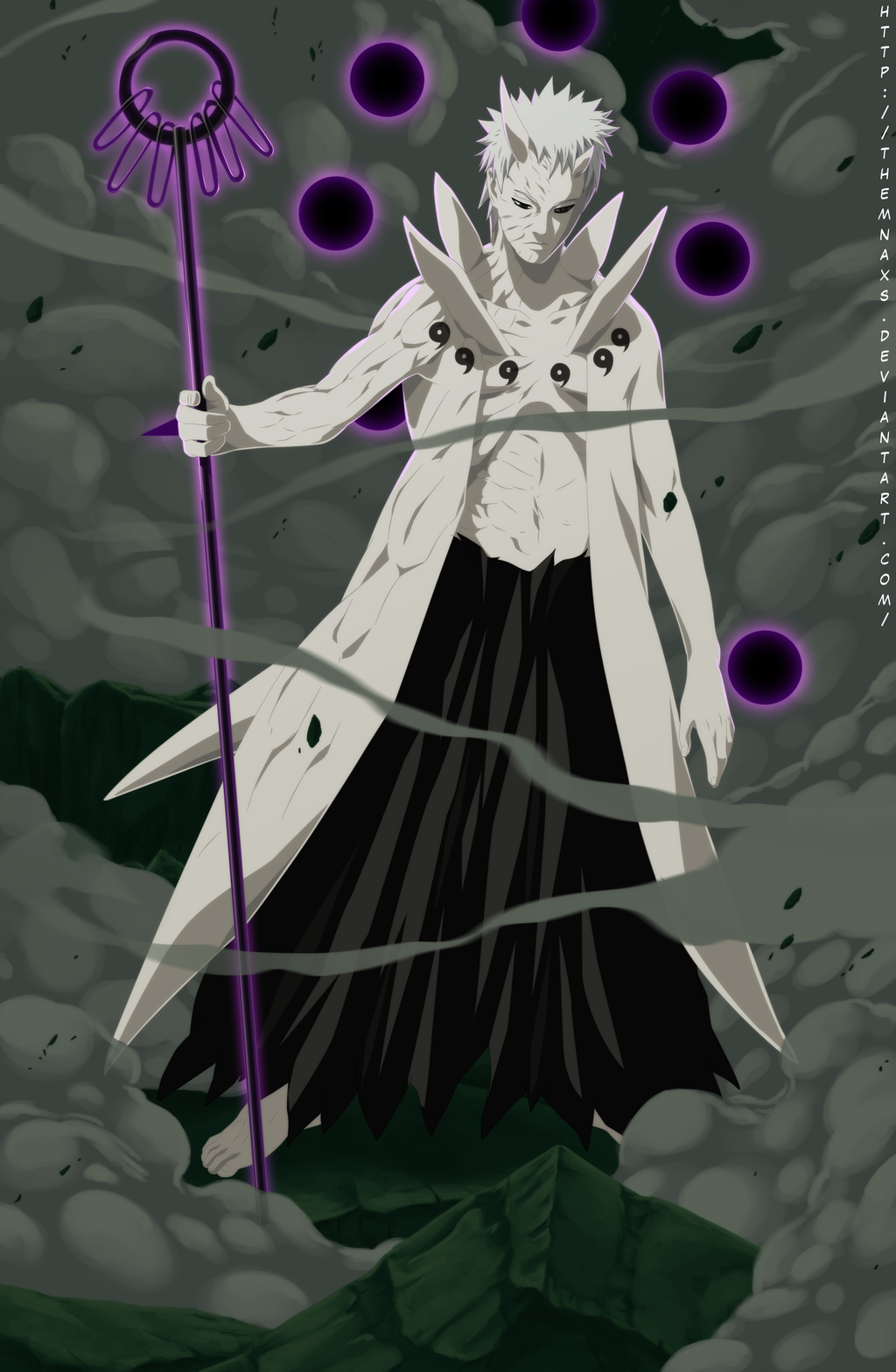 Obito Uchiha 10 Tails Sage Form ( Better In Preview ) Minecraft Skin