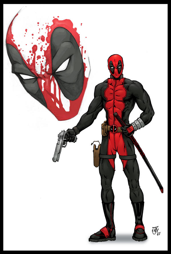 Deadpool Concept Art by Vulture34