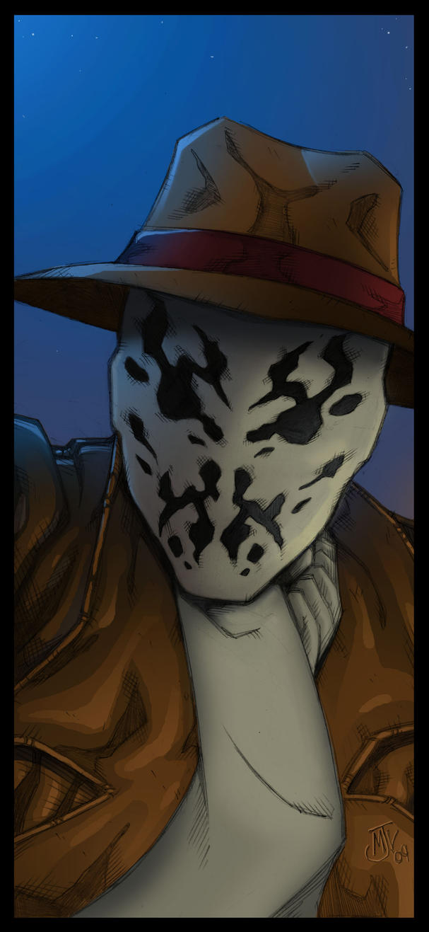 Rorschach by Vulture34