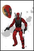 Deadpool Movie Concept Art by Vulture34
