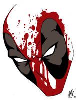 Deadpool Tattoo by Vulture34