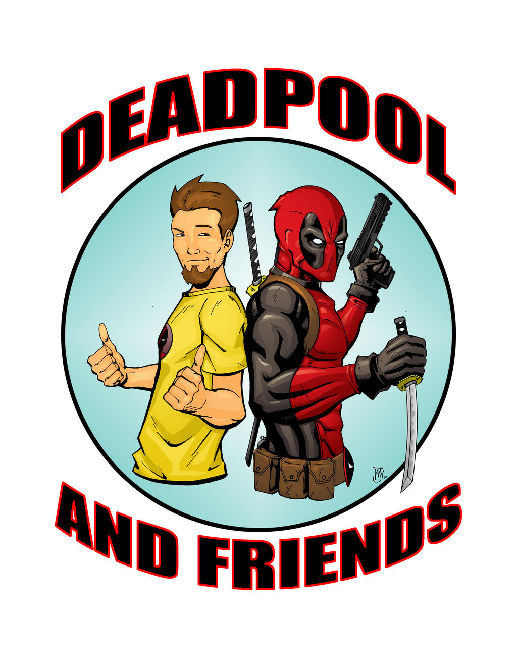 DEADPOOL... and friends by Vulture34