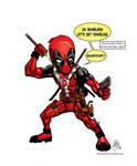 Chibi Deadpool Version 2.0
