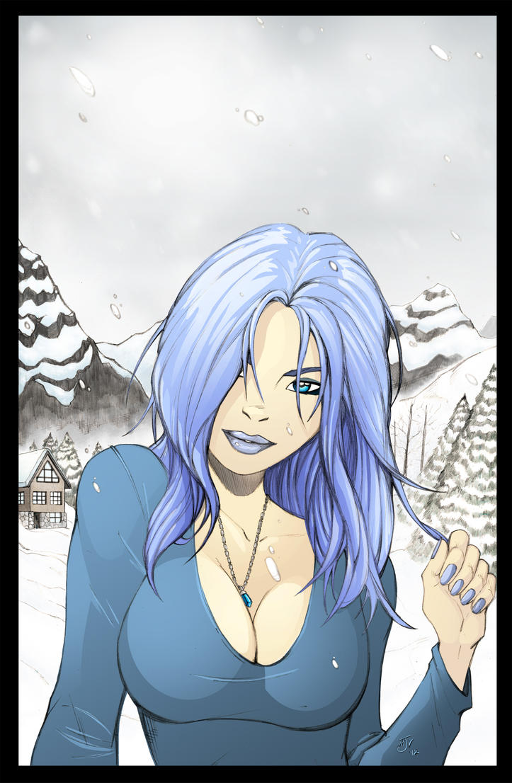 Ice Angel by Vulture34