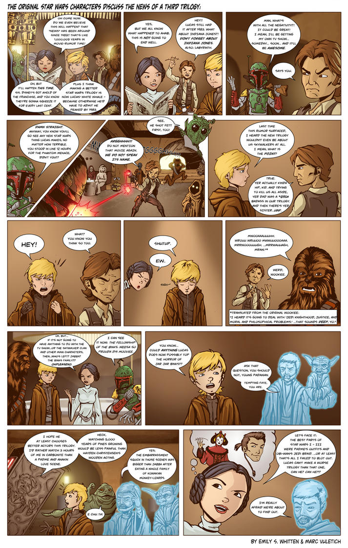 Star Wars Comic by Vulture34