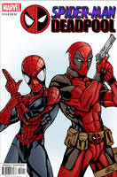 Spider-man and Deadpool by Vulture34
