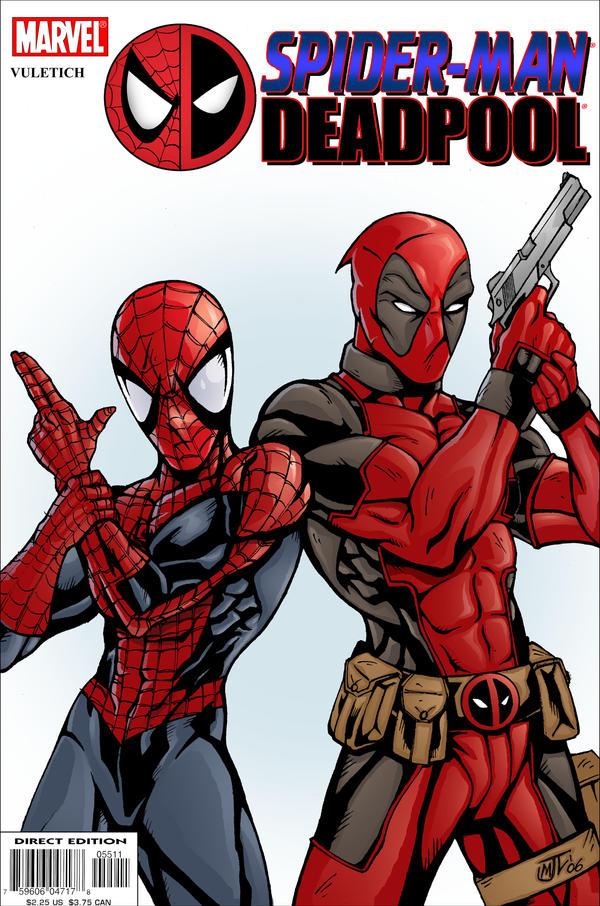 deadpool and spiderman comic - photo #16