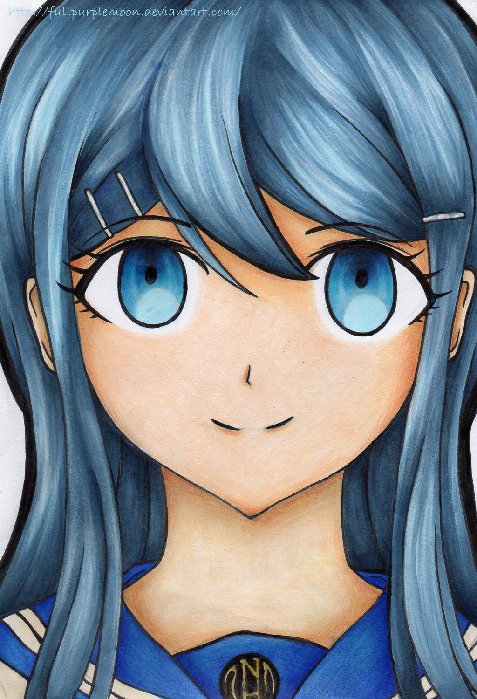 Super High-School Level Idol: Sayaka Maizono by FullPurpleMoon