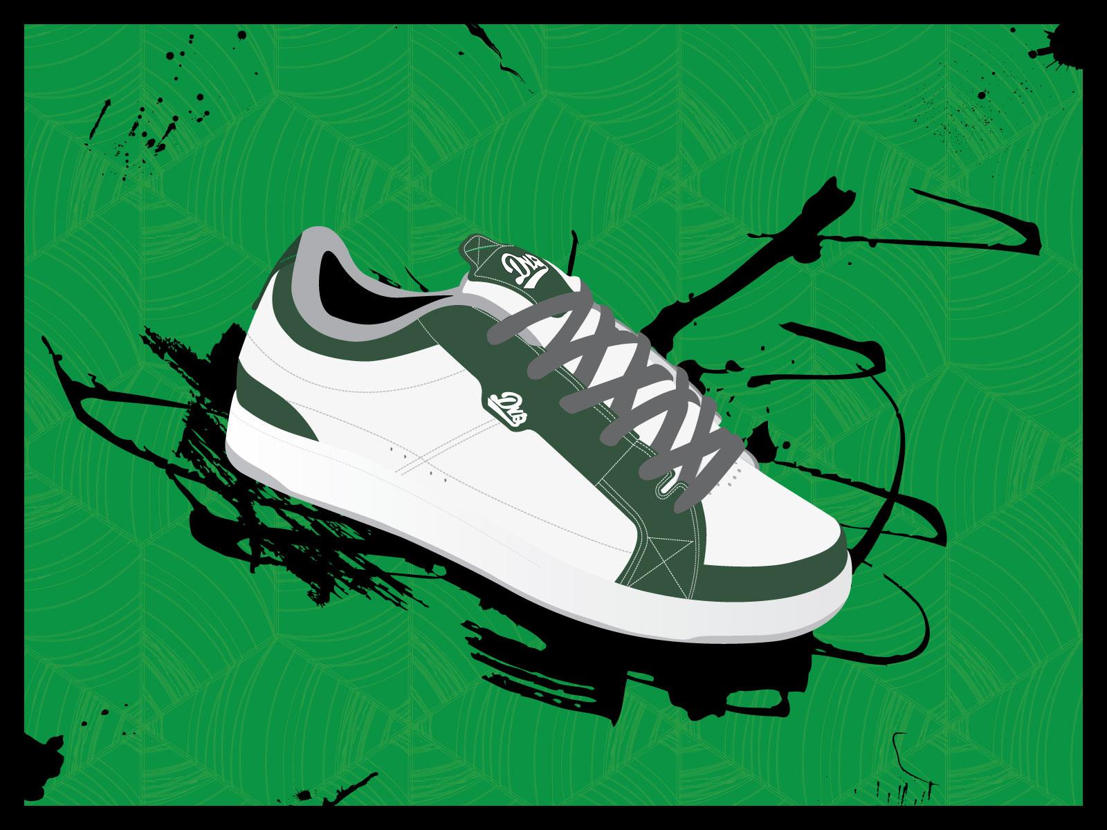 Green Shoe by Pavu1on