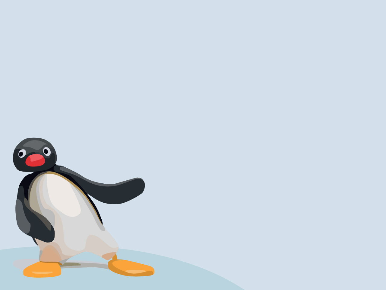 Pingu Wallpaper by Pavu1on