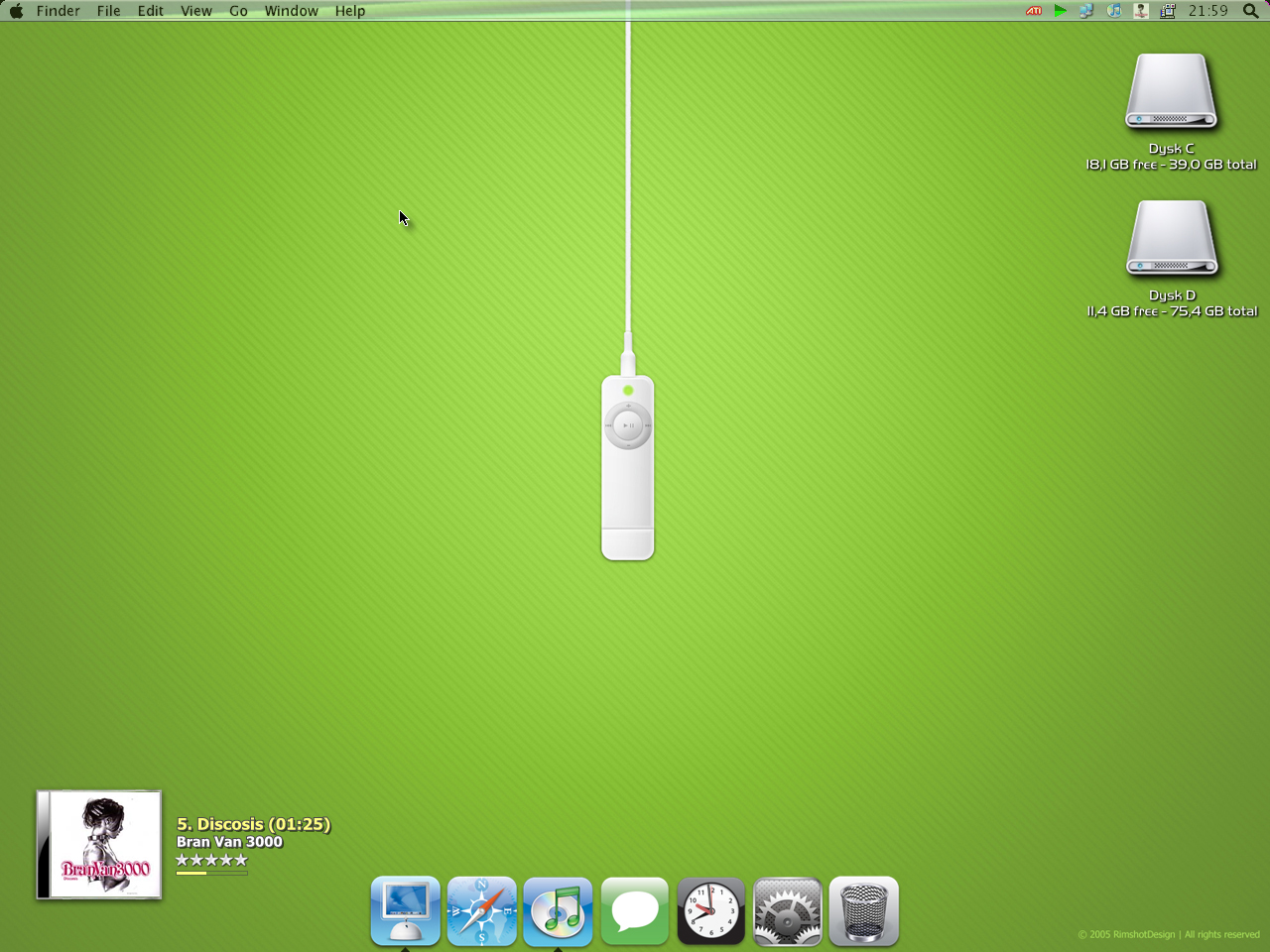 Green desktop by Pavu1on