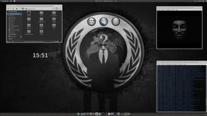 Anonymous desk