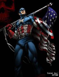 Capitan America by ZNKGN