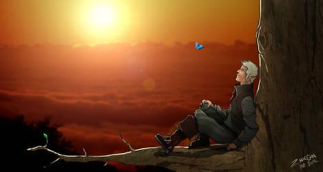 Sunset... by ZNKGN
