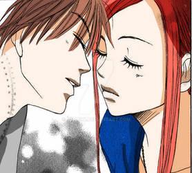 Kiss otani and Risa