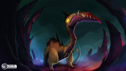 Cave Dino-creature