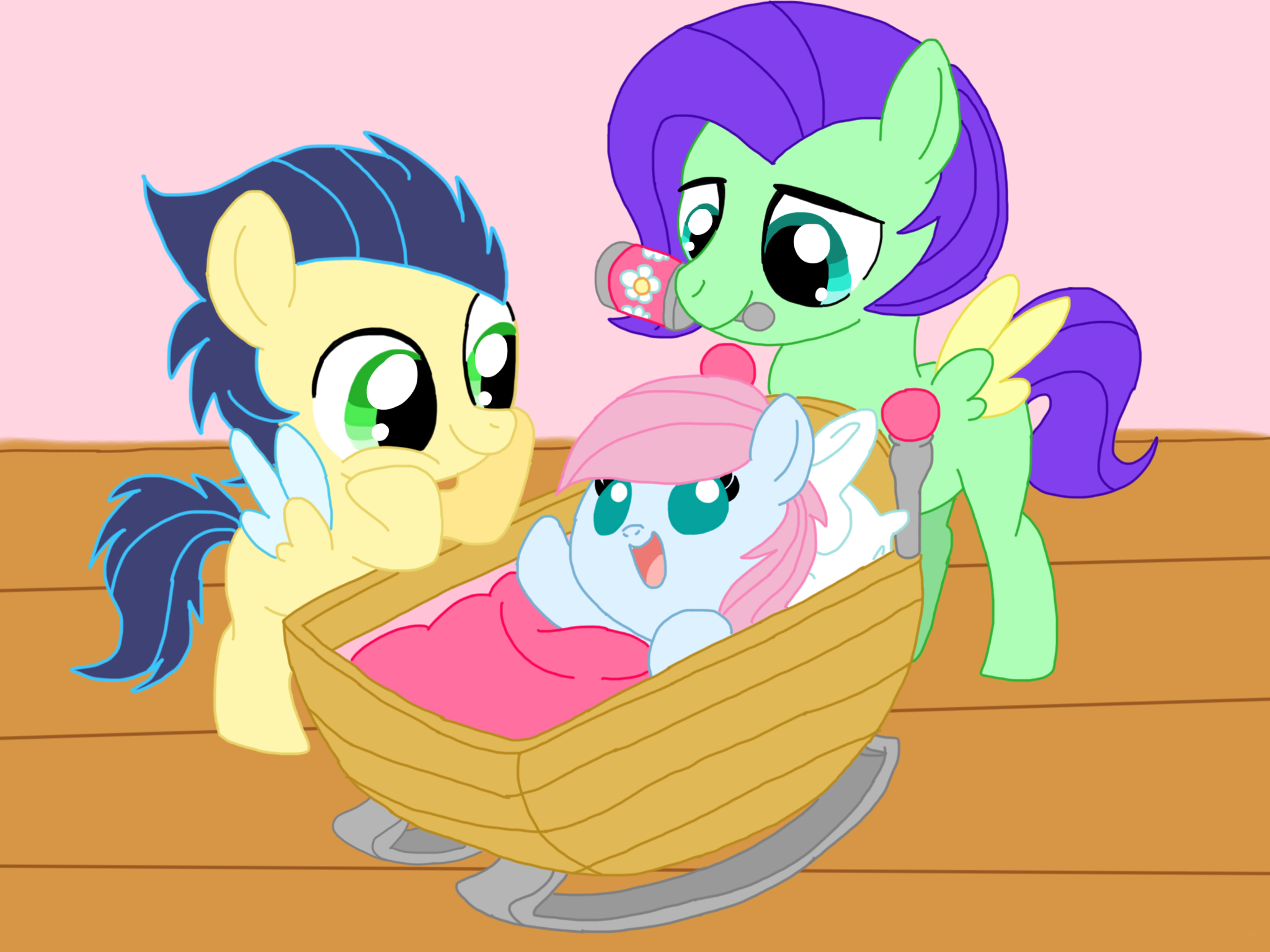 Mlp NG: Meet your new sister by Smileverse on DeviantArt