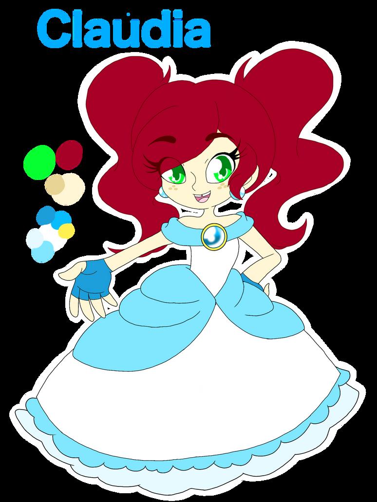 Mario oc: Princess Claudia of Nube Kingdom  by Smileverse