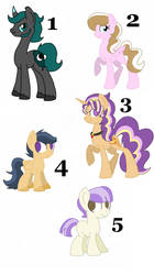 UNUSED MLP NGS FOR SELL OPEN PART 1 by Smileverse